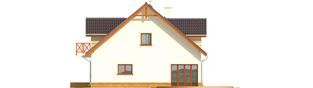 Projekt domu Marina G2 - elewacja tylna