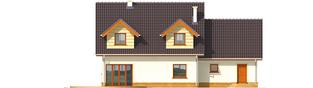 Projekt domu Marina G2 - elewacja prawa