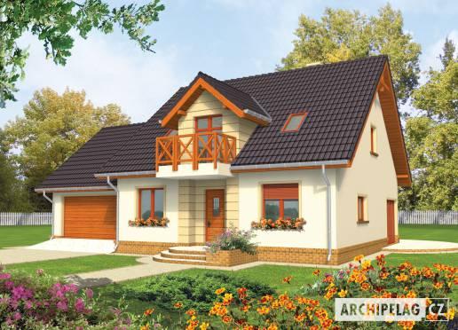 Projekt rodinného domu - Marina (G2)
