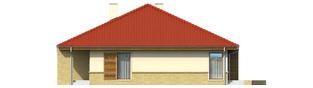 Projekt domu Flori - elewacja prawa