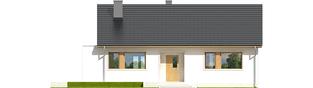 Projekt domu Emi - elewacja frontowa