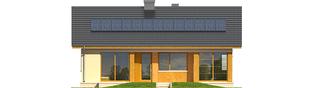 Projekt domu Karmela II - elewacja tylna