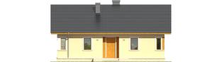 Projekt domu Karmela II - elewacja frontowa