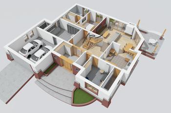 Seweryna G2 Mocca: Widok 3D -