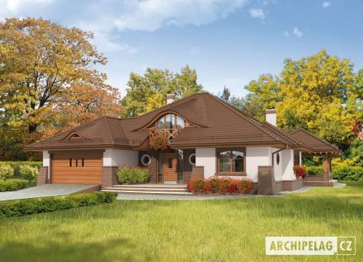 Projekt rodinného domu - Severina