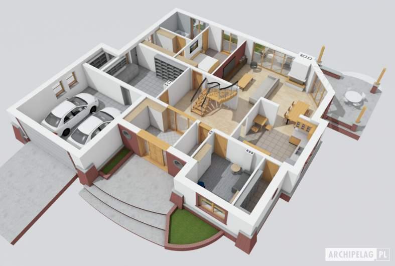 Projekt domu Seweryna G2 Mocca -