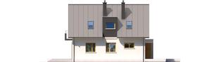 Projekt domu Eliot G1 - elewacja lewa