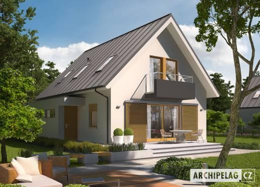 Projekt rodinného domu - Eliot G1
