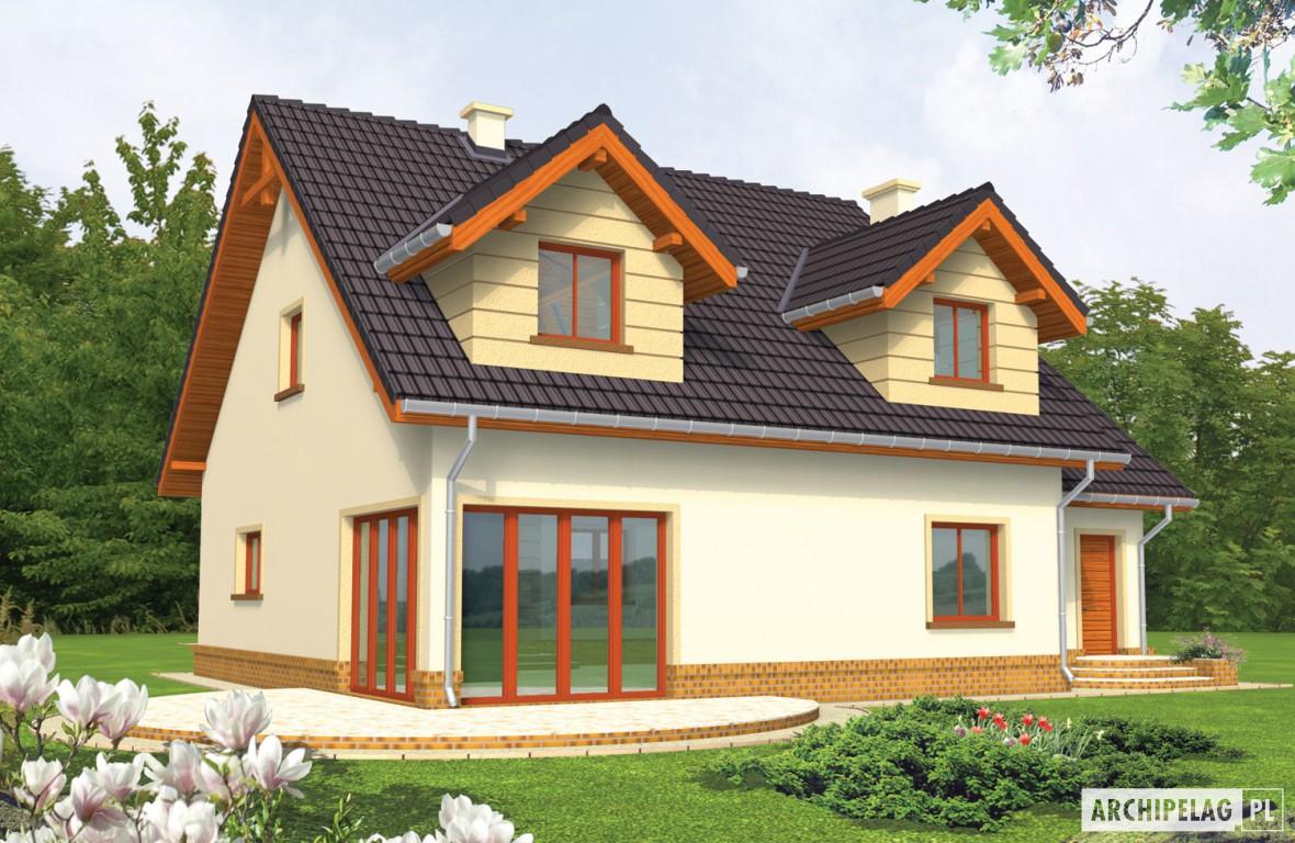 Marina G1 - projekt domu z kosztorysem - Archipelag