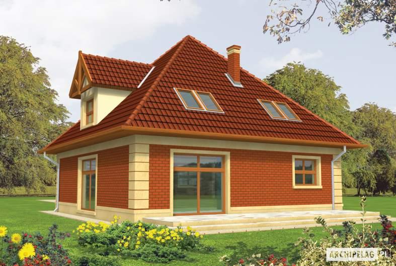 Projekt domu Masza -