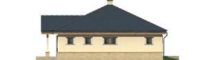 Projekt domu Harold - elewacja prawa