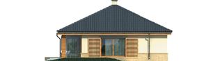 Projekt domu Harold - elewacja lewa
