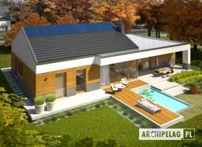 Projekt domu EX 11 G2 (wersja D) ENERGO PLUS - animacja projektu