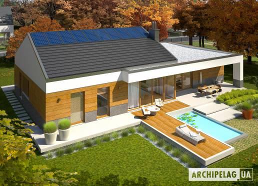 Проект будинку - Екс 11 (Г2, Енерго, версія Г)