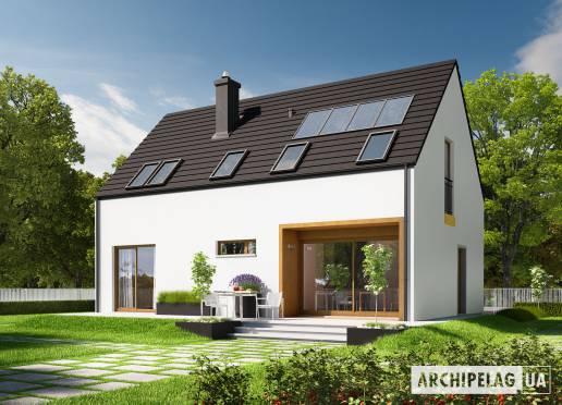 Проект будинку - Е2 (Економ, версія А)