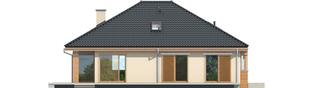 Projekt domu Andrea - elewacja tylna