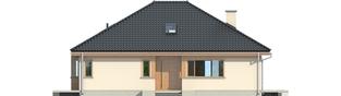 Projekt domu Andrea - elewacja frontowa
