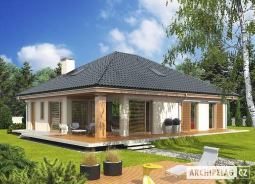 Projekt rodinného domu - Andrea