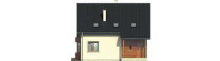 Projekt domu Robin - elewacja frontowa