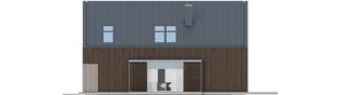 Projekt domu EX 13 soft - elewacja prawa