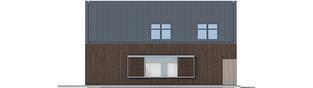 Projekt domu EX 13 soft - elewacja lewa
