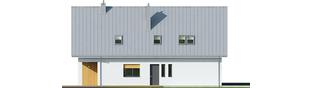 Projekt domu Riko II G1 - elewacja lewa