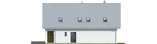 Projekt domu Riko II G1 - elewacja prawa