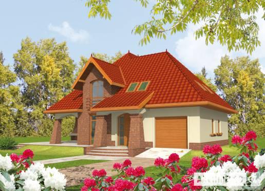 Projekt rodinného domu - Irena