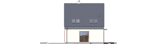 Projekt domu Adriana II - elewacja lewa