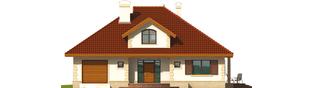 Projekt domu Fifi G1 - elewacja frontowa
