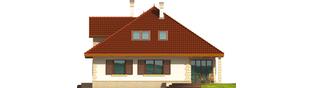 Projekt domu Fifi G1 - elewacja prawa
