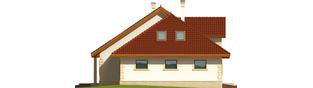Projekt domu Fifi G1 - elewacja lewa