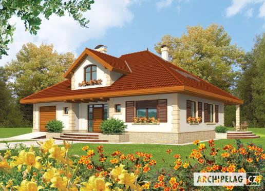Projekt rodinného domu - Fanny