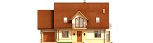 Projekt domu Kajka G1 Leca® DOM  - elewacja frontowa