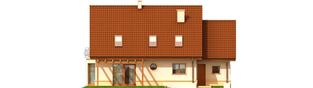 Projekt domu Kajka G1 Leca® DOM  - elewacja tylna