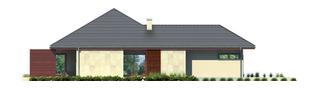 Projekt domu Dylan G1 - elewacja lewa