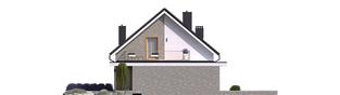 Projekt domu Mini 2 G1 - elewacja lewa