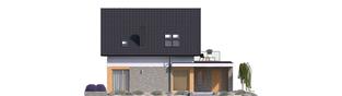 Projekt domu Mini 2 G1 - elewacja prawa