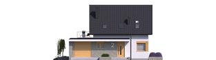Projekt domu Mini 2 G1 - elewacja frontowa