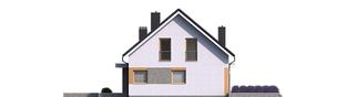 Projekt domu Mini 2 G1 - elewacja tylna