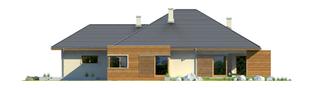 Projekt domu Margaret G2 Leca® DOM - elewacja prawa