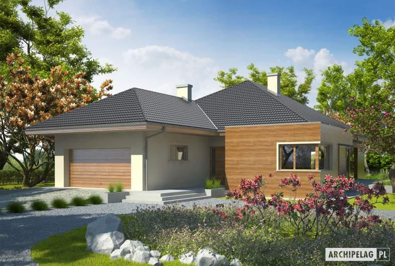 Projekt domu Margaret G2 Leca® DOM - wizualizacja frontowa