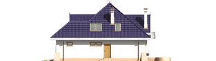 Projekt domu Salma G1 - elewacja prawa