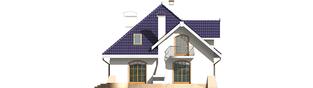 Projekt domu Salma G1 - elewacja tylna