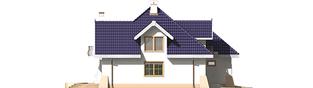 Projekt domu Salma G1 - elewacja lewa