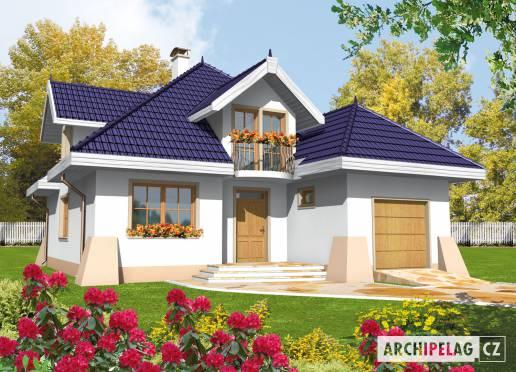 Projekt rodinného domu - Salma