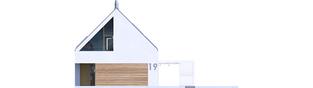 Projekt domu EX 19 II G2 ENERGO PLUS - elewacja frontowa