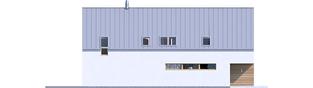 Projekt domu EX 19 II G2 ENERGO PLUS - elewacja lewa