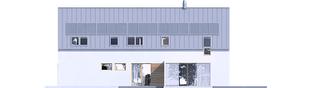 Projekt domu EX 19 II G2 ENERGO PLUS - elewacja prawa