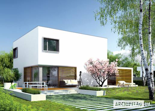 Проект будинку - Екс 10 (Н, Енерго)